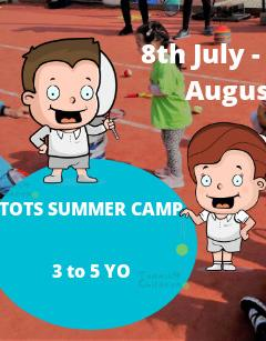 Future Champions- Tots Tennis Summer Camp image
