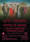 Chaos Theory presents: Lost Crowns, Bitch 'n' Monk, Colin Webster/Andrew Lisle image
