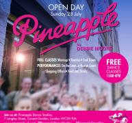 40 Free Dance Classes at Pineapple Open Day image