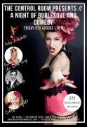 The Control Room Presents // A Night of Burlesque and Comedy image