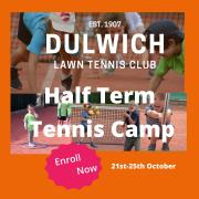 Half Term Tennis Camp- Autumn 2019 image