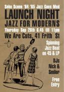 Jazz for Moderns Soho 65 Launch image