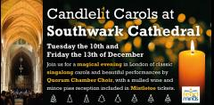 Candlelit Carols at Southwark Cathedral image