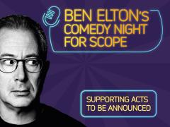 Ben Elton's comedy night for Scope image