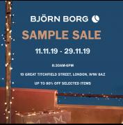 Bjorn Borg Sample Sale image