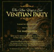 New Year's Eve Venetian Mask Party in London image
