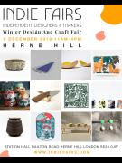 Winter Design & Craft Fair South London (Herne Hill) image