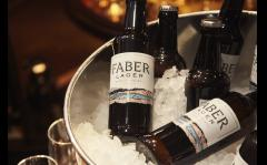 Faber Lager tasting at The Royal Oak Marylebone image