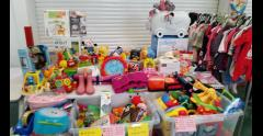 Mum2mum market baby and children's nearly new sale Wimbledon image
