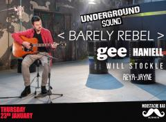 Barely Rebel - Underground Sound Presents image