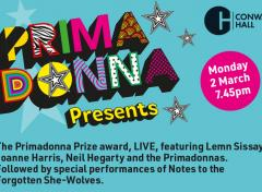 Primadonna Prize Launch and #VoicesInTheDark Performance image