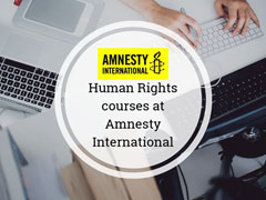 Enrol onto an Amnesty International course image