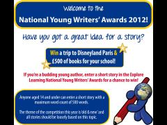 National Young Writers Award image