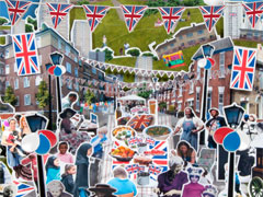 The Big Jubilee Lunch  image