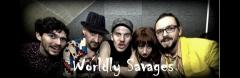 Wordly Savages (LIVE) + DJ Gypsy Viking image