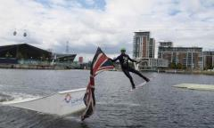 Wakeboarding in Royal Docks image