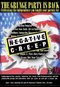The Negative Creep Grunge Party - Independence Day Special image