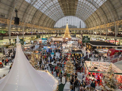 Ideal Home Show at Christmas image