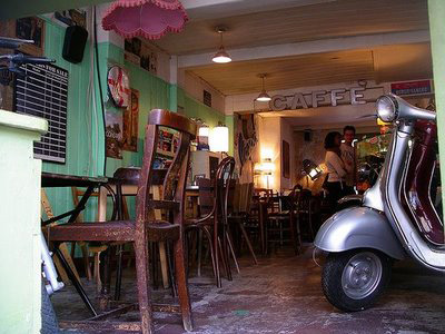 Get a Vespa with your coffee image