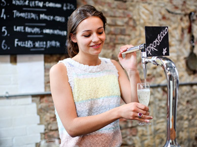 Prosecco on tap image