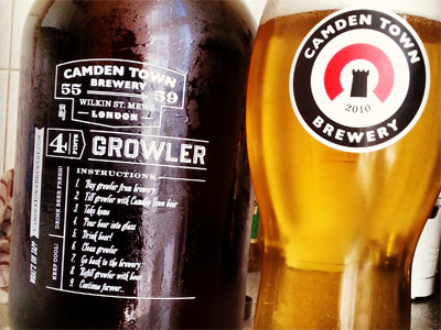 Fill up a Growler image