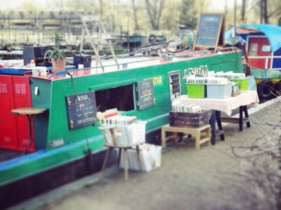 Get on board a floating record shop image