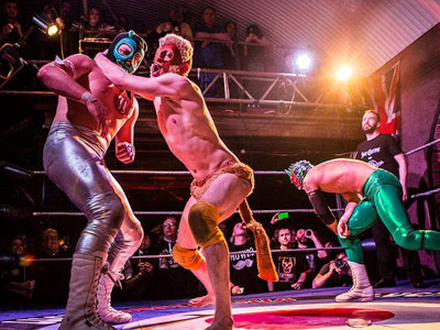 Mexican Wresting Cabaret image