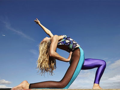 Take part in the latest dance craze: yoga + vogueing = Voga! image