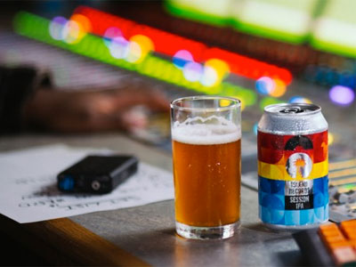 Drink the Island Records Beer that comes with its own playlist image