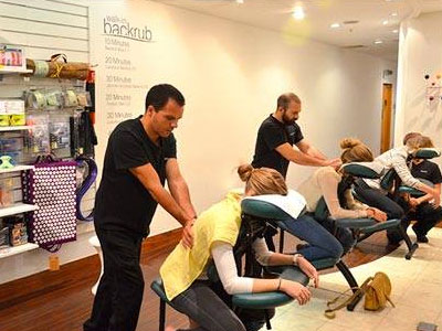 Get a walk-in massage between shops image