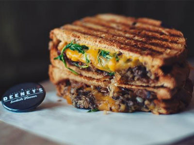 Eat London's ultimate grilled cheese sandwich image