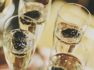 Drink healthy champagne image