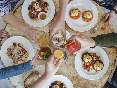 Three Course Bottomless Brunch on the South Bank image
