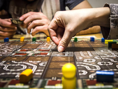 Join a club to play board games image