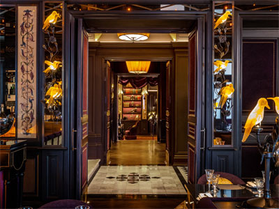 Eat in London's most ostentatiously baroque restaurant image
