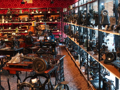 Visit a niche museum filled with sewing machines image