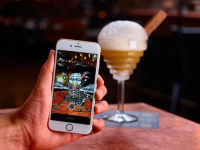 Drink augmented reality cocktails image