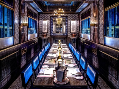 Eat at the latest contender for London's most ostentatious restaurant image