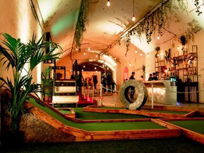 Not just crazy golf, it's surreal golf too image