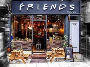 Eat at London's Friends-themed cafe image