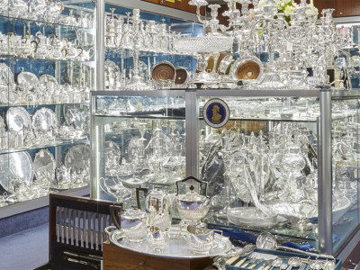 Shop for silver treasures underground image
