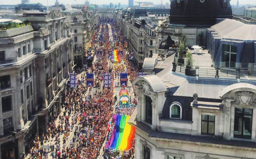 New Pride gallery celebrates the history of the parade picture