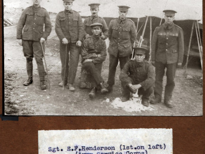 Top Level Tips: First World War Army Records image