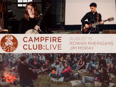 Campfire Club: Live Rowan Rheingans Jim Moray - Digital Ticket image