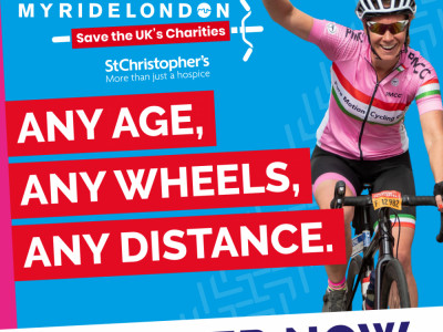 My Prudential RideLondon - St Christopher's image