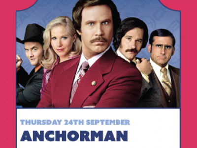 Float-In Cinema : Anchorman image