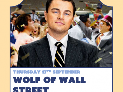 Float-In Cinema : The Wolf of Wall Street image
