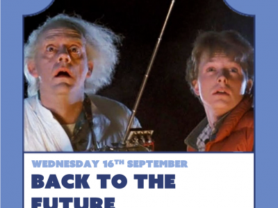 Float-In Cinema : Back to the Future image