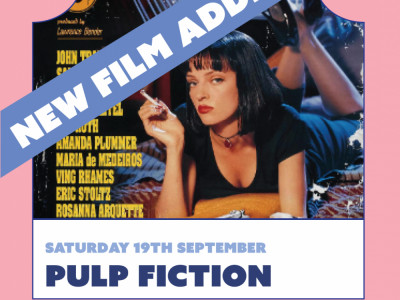 The Openaire Float-in Cinema by Häagen Dazs presents Pulp Fiction image