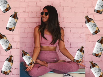 Sip and Stretch with Pop Up Yoga Club x Small Beer Brew Co this Oktoberfest image